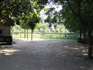 Het terrein waar de puppy en EG cursussen worden gegeven